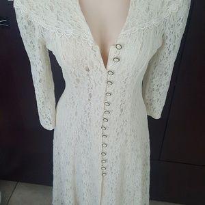 Vintage dress .